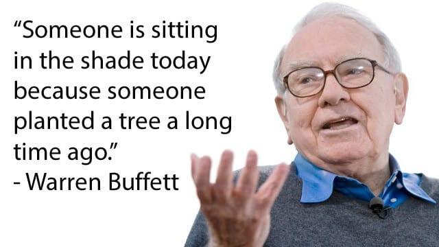 Warren Buffett's famous quote