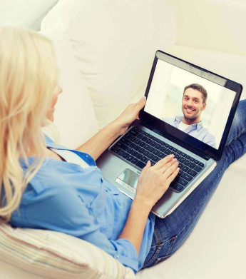 a woman is viewing Custodian Webinar for 7 steps to wealth strategy